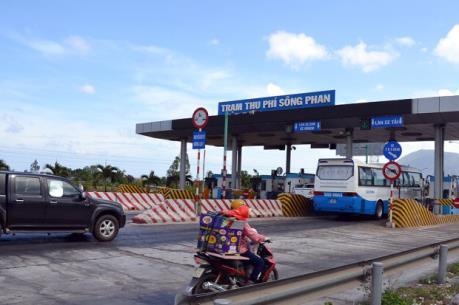 Dừng thu phí trên Quốc lộ 1 đoạn Trảng Bom–Phan Thiết vì sự cố lún