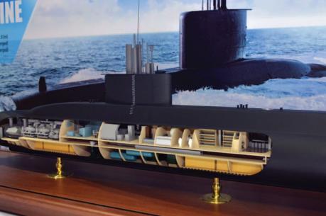Hàn Quốc đóng 3 tàu ngầm tấn công hiện đại