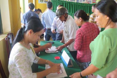 Ngư dân từ Hoàng Sa, Trường Sa về bầu cử Quốc hội