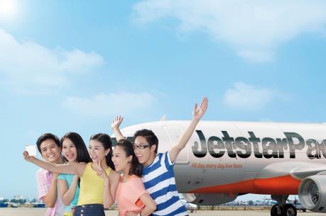 Mừng sinh nhật, Jetstar Pacific tặng miễn phí vé máy bay