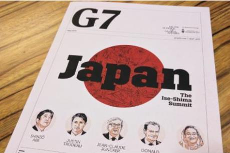 Trước thềm Hội nghị thượng đỉnh G7
