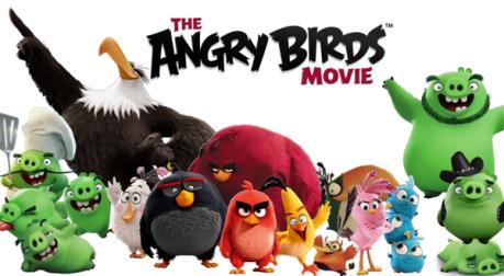 """Câu chuyện điện ảnh: """"Angry birds"""" đánh bật """"bộ sậu"""" siêu anh hùng"""