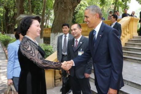 Chủ tịch Quốc hội đề nghị Hoa Kỳ tạo thuận lợi hơn cho hàng hóa Việt Nam