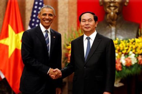 Quan hệ Việt Nam - Hoa Kỳ phát triển mạnh mẽ