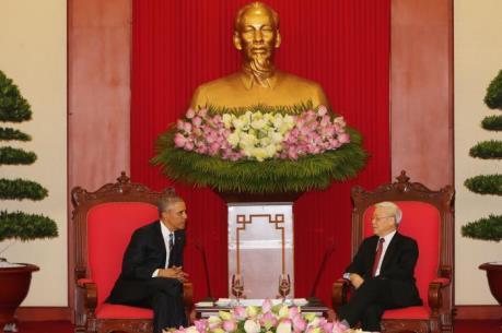 Tổng thống Obama: Hoa Kỳ coi Việt Nam là đối tác quan trọng trong khu vực