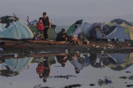 Hy Lạp bắt đầu giải tỏa khu lán trại tạm trú ở Idomeni