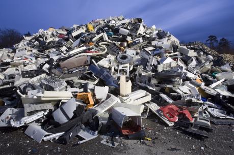 Ấn Độ xả rác thải điện tử nhiều thứ 5 thế giới