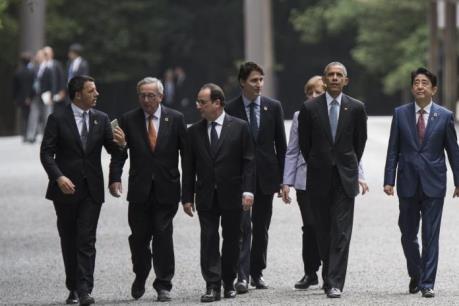 Hội nghị thượng đỉnh G7 chính thức khai mạc tại Nhật Bản