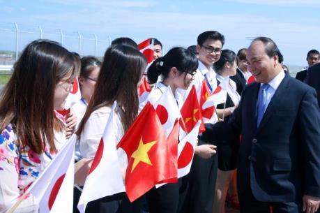 Thủ tướng Nguyễn Xuân Phúc bắt đầu chuyến thăm Nhật Bản và dự Hội nghị G7 mở rộng