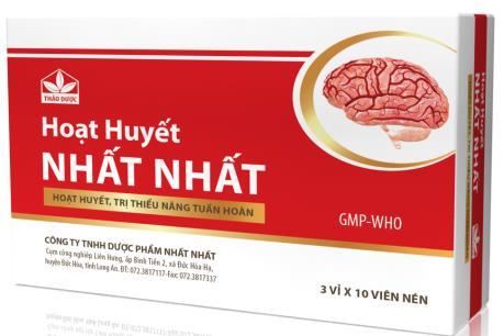 Quảng cáo thuốc không đúng nội dung, Công ty TNHH Nhất Nhất bị phạt 30 triệu đồng