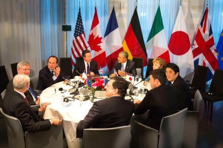 Lãnh đạo G7 cam kết hợp tác thúc đẩy kinh tế và an ninh hàng hải
