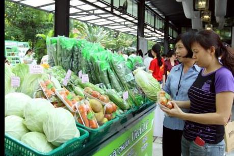Thái Nguyên khai trương hệ thống cửa hàng thực phẩm an toàn đầu tiên