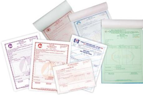 Đặt in hóa đơn mà không ký hợp đồng sẽ bị phạt đến 1,5 triệu đồng