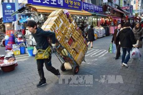 Lĩnh vực chế tạo của Hàn Quốc tăng cao nhất 7 tháng