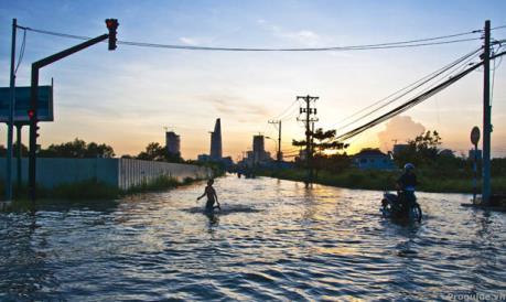 LHQ cảnh báo nguy cơ nước biển dâng ở Việt Nam