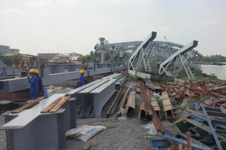 Điều tra vụ tai nạn lao động tại công trường thi công cầu Ghềnh (Đồng Nai)