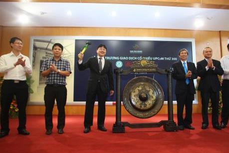 Ba doanh nghiệp khai trương giao dịch nhân dịp UPCOM đạt mốc 300 doanh nghiệp