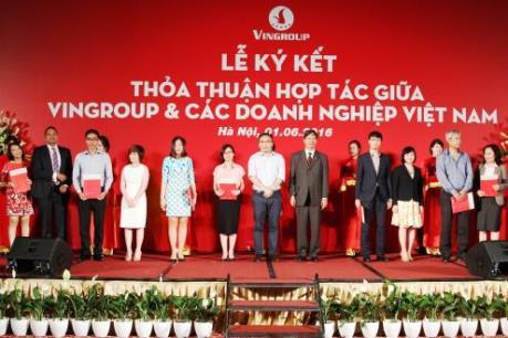 Vingroup ký thỏa thuận hợp tác với gần 250 doanh nghiệp