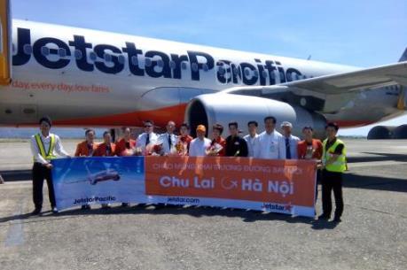 Jetstar khuyến mại vé, mừng khai trương đường bay mới
