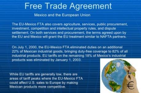 EU và Mexico sẽ khởi động vòng đàm phán FTA trong tháng 6/2016