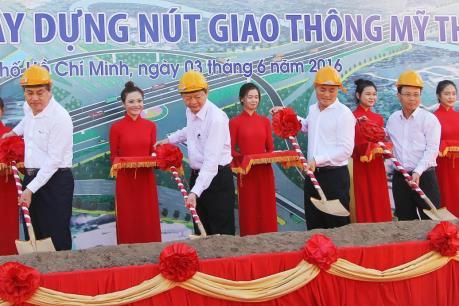 Tp. Hồ Chí Minh khởi công nút giao thông Mỹ Thủy