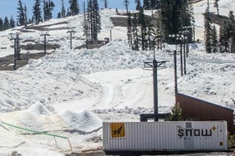 Mỹ thử nghiệm máy tạo tuyết ở nhiệt độ 30 độ C