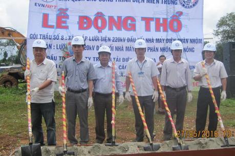 Triển khai Lưới điện 220kV đấu nối nhà máy điện phân nhôm Đăk Nông