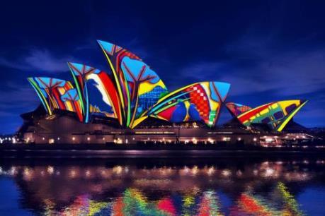 Sydney lung linh trong lễ hội ánh sáng thường niên