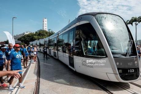 Brazil khai trương hệ thống tàu hỏa hạng nhẹ trước thềm Olympic 2016