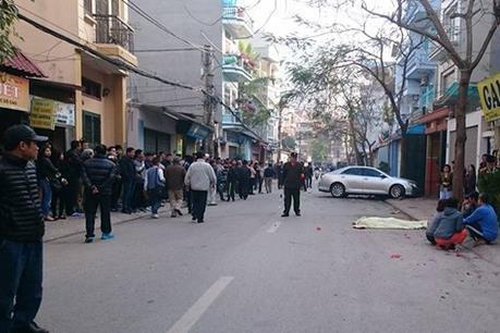 Triệu tập đối tượng liên quan đến vụ nổ súng ở Long Biên, Hà Nội