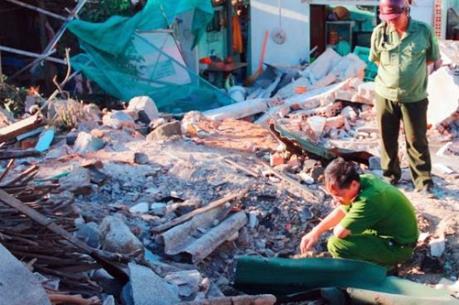 Hỗ trợ các gia đình bị ảnh hưởng trong vụ nổ trên đảo Phú Quý