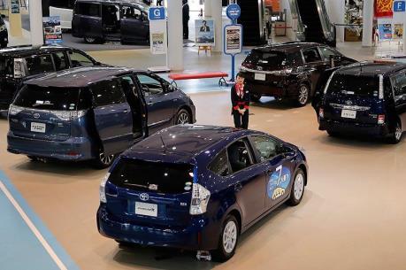 Nhật Bản: Thị trường ô tô nhập khẩu khởi sắc