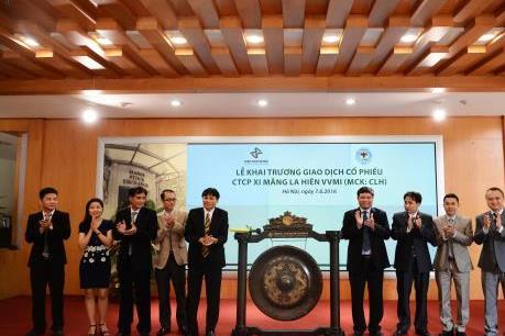 Xi măng La Hiên VVMI đưa 10 triệu cổ phiếu lên niêm yết tại HNX