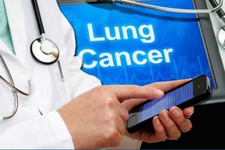 Sử dụng thiết bị di động vào điều trị bệnh ung thư phổi