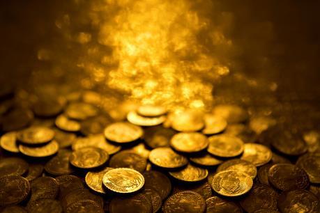Giá vàng thế giới vọt lên mức cao nhất trong ba tuần