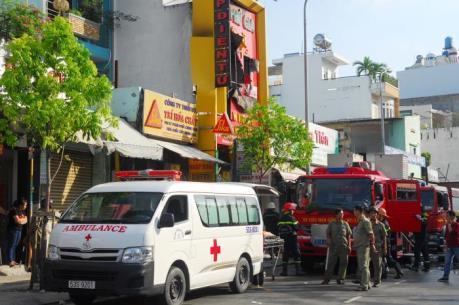 TP.HCM: Cháy cửa hàng trong đêm, 4 người tử vong