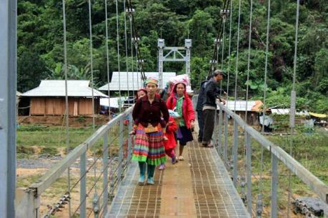 Cầu Chu va mới sẽ đưa vào sử dụng trong tháng 7