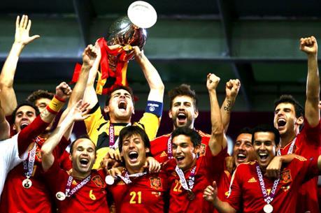 Điểm danh các đội tuyển quốc gia vô địch Euro