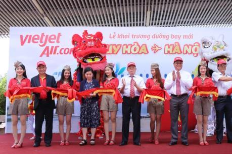 Vietjet khai trương đường bay Hà Nội - Tuy Hoà