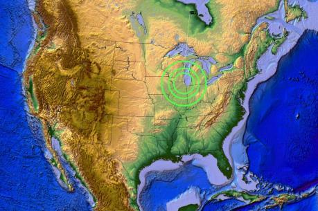 Động đất mạnh liên tiếp tại Mỹ và Nicaragua