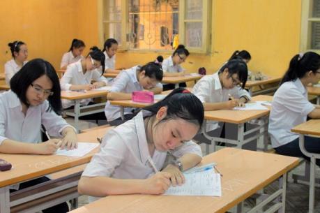 Gần 69.000 học sinh TP Hồ Chí Minh bắt đầu kỳ thi tuyển sinh lớp 10