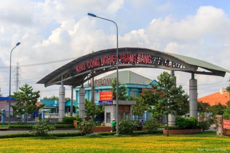 Tây Ninh: Cháy lớn tại Khu công nghiệp Trảng Bàng