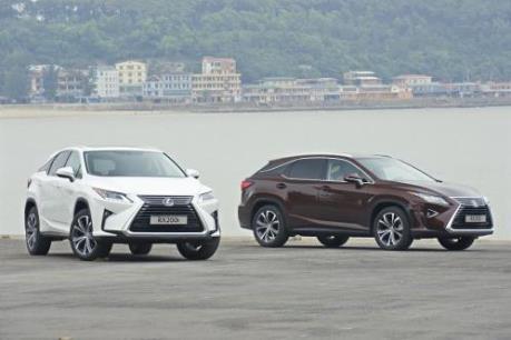 Xe sang của Toyota Việt Nam tăng trưởng gần 80% trong tháng 5