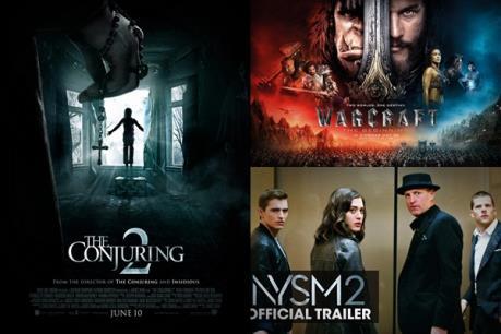 Top 10 phim ăn khách: Bộ ba bom tấn khuấy đảo Bắc Mỹ