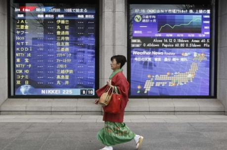 Chứng khoán châu Á ngày 13/6 giảm xuống mức thấp nhất trong hai tháng
