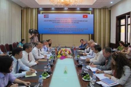 Việt Nam – Cuba tăng cường hợp tác trong lĩnh vực giao thông vận tải
