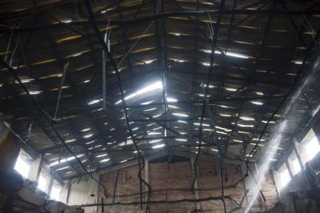 Cháy Nhà Thiếu nhi tỉnh Điện Biên: Nguyên nhân có thể do chập điện