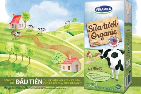 Việt Nam sản xuất được sữa tươi organic tiêu chuẩn USDA Hoa kỳ