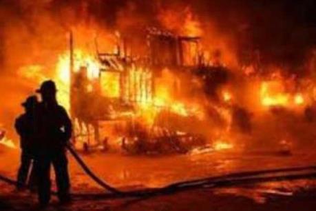 Cháy nhà trong đêm, hai vợ chồng tử vong