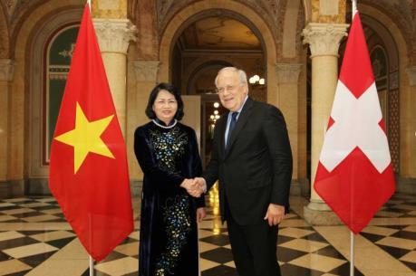 Thụy Sỹ sẽ thúc đẩy hợp tác đầu tư với Việt Nam